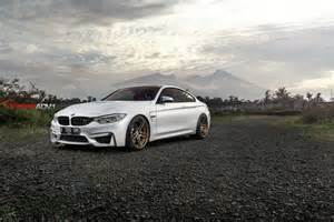 Custom Bmw M4 Mineral White Bmw F82 M4 With Custom Adv 1 Wheels