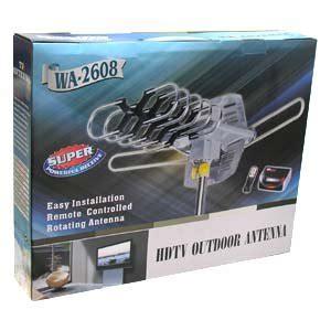 amplified hd digital outdoor hdtv antenna 150 miles long