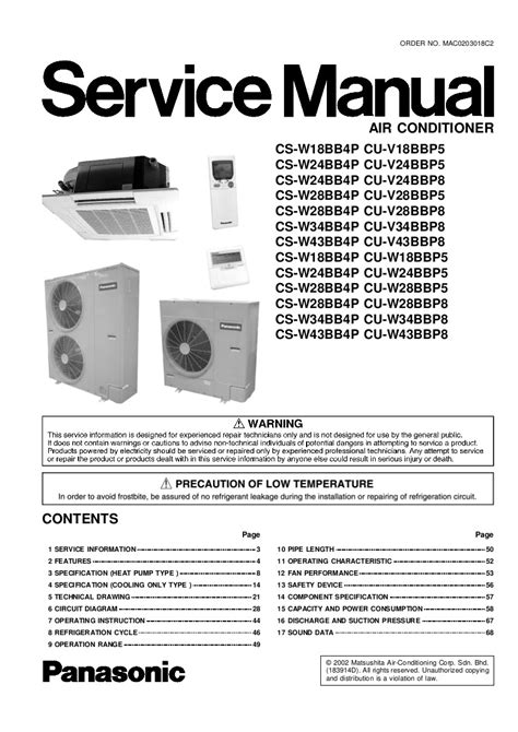 Ac Panasonic Inverter R410a panasonic air conditioner r410a manual air conditioner