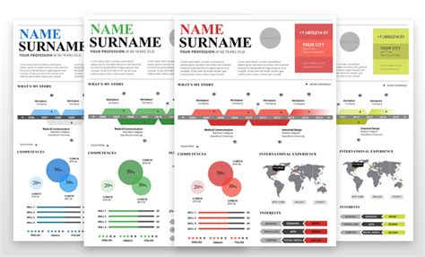 infographic resume template powerpoint free infographic resume cover letter