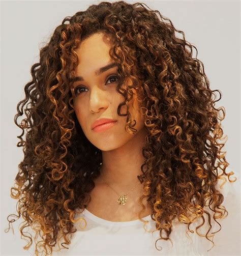 haircuts that help to take the eyes away from jowls 35 curly hair cuts with layers for medium short and long
