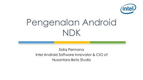 what is android ndk pengenalan android ndk