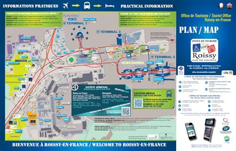 cdg map maps and access tourism roissy en