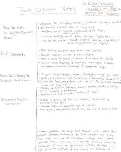 Teaching two column notes draper chapter 8 two column notes ashley