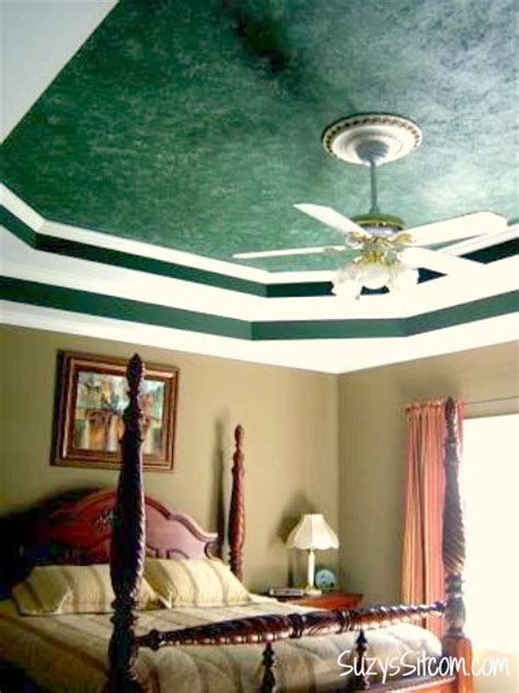 how to paint a faux marble ceiling