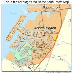aerial photography map of apollo fl florida