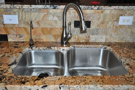 kitchen faucets for granite countertops granite countertops and tile backsplash ideas eclectic
