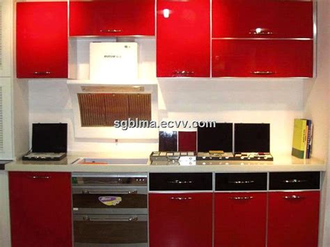 Mdf Kitchen Cabinet Doors high glossy american standard kitchen cabinet from uv mdf