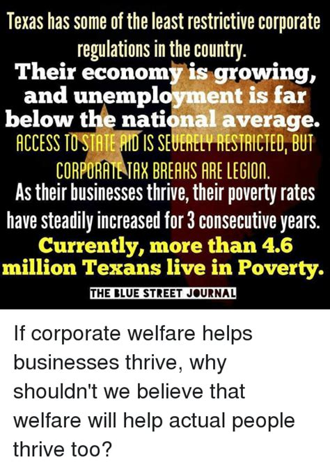 texas has some of the highest and the lowest costs of 25 best memes about corporate welfare corporate welfare