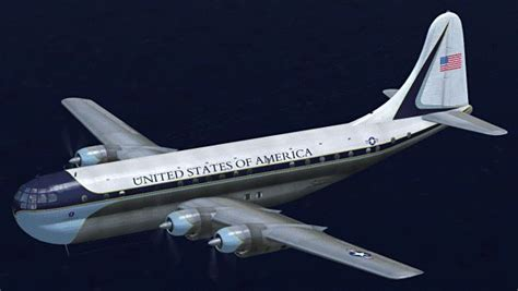 air force one installation boeing b 377 air force one for fsx