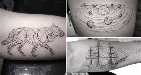 geometric tattoo price these geometric tattoos by dr woo are amazing