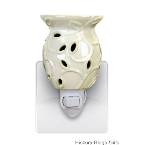 scented night light plug in cream ivy wax tart oil electric plug in scented