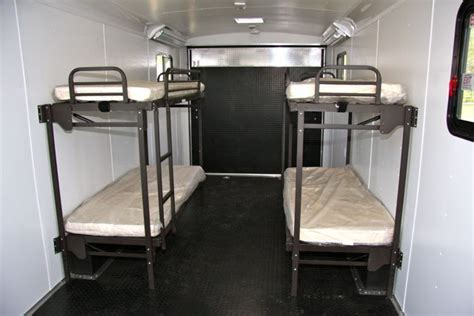 Folding Rv Bunk Beds Fold Up Bunks For Cargo Trailers And Haulers Cing Ideas Cabin Porches