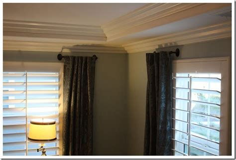 side panel curtain rods 1000 ideas about short curtain rods on pinterest tan