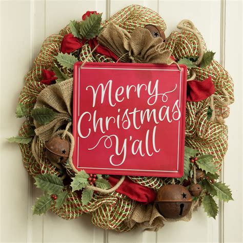 square tin sign merry christmas yall md craftoutletcom