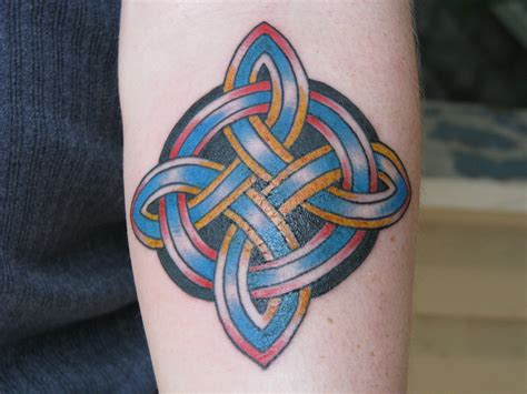 celtic knot cross tattoo celtic knot tattoos designs ideas and meaning tattoos
