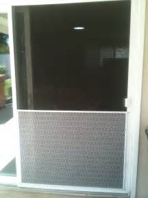 guards screen door and window screen repair and