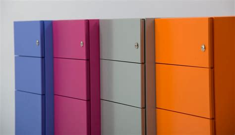Metal Cabinet With Drawers American Home Office Filing Cabinet With Multi Color