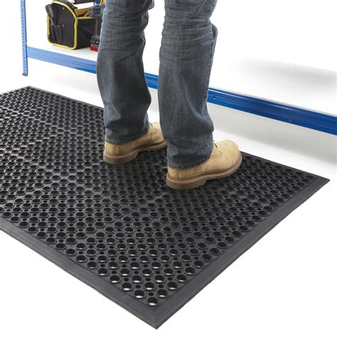 non slip anti fatigue mat rubber indoor large door