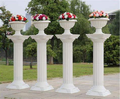 where to buy columns for house aliexpress com buy fashion 2016 decorative roman columns white color plastic pillars road