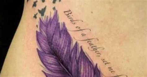 feather tattoo purple beautiful purple feather tattoo tattoos i like