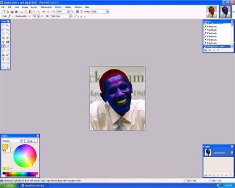 paint net tuts lesson 4 how to change the hair and skin color