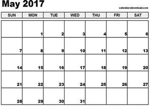 may calendar template 2017 calendar templates
