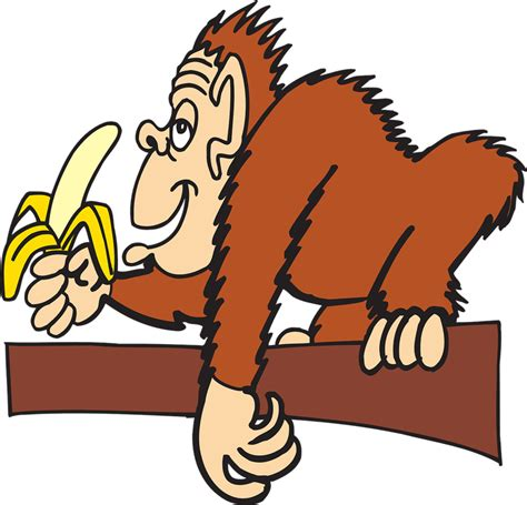ape clipart free to use domain monkey clip