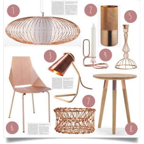 decorative home accessories uk 2015 trend copper by lidia solymosi on polyvore