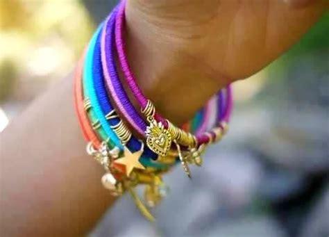 cara membuat gelang india cara membuat kerajinan tangan aksesoris wanita gelang 11