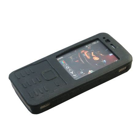 Casing Hp Nokia N82 silicone for nokia n82 black