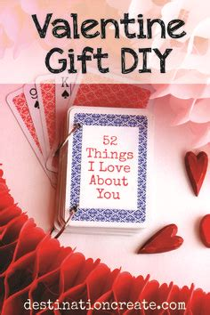Deck Of Cards Valentines Template by 52 Things I About You Card Deck Template Free