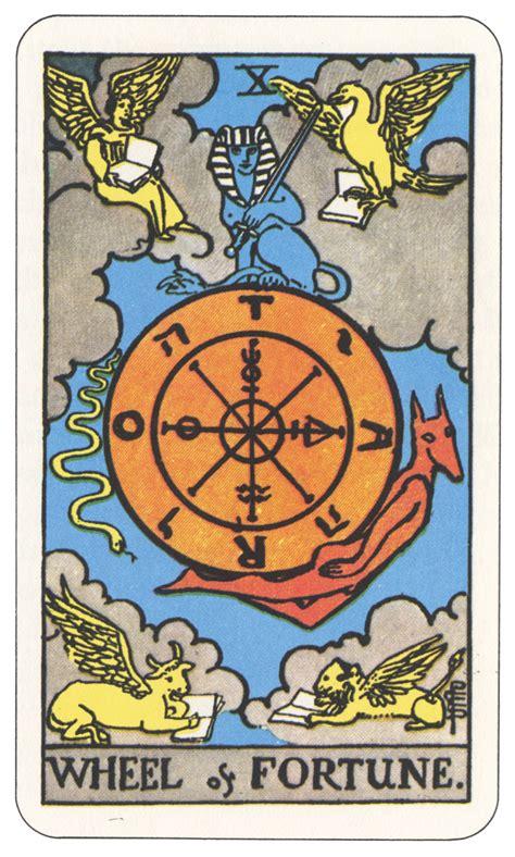 Tarot 10 Wheel Of Fortune tarot rota torah biblodiac