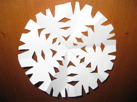 Make Snowflake Out Of Paper - snowflake template to cut out new calendar template site