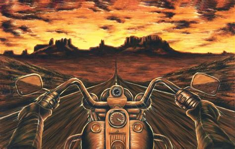 Motorradlackierungen Bilder by Harley Davidson Painting Motorcycle Artwork Stretched