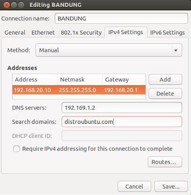 cara membuat jaringan lan di ubuntu membuat multi jaringan di ubuntu bongkar os