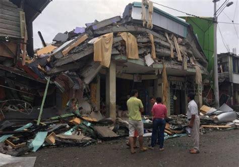 imagenes impactantes terremoto ecuador terremoto en ecuador im 225 genes del desastre cubanetcubanet