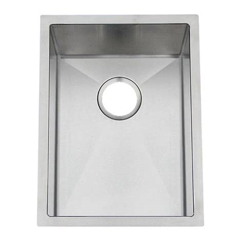 Stainless Steel Prep Sinks by Frigidaire Gallery Series Undermount Style Stainless Steel