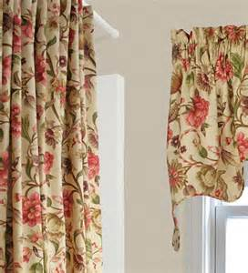 floral shower curtains vareen floral empress swag collection accessories