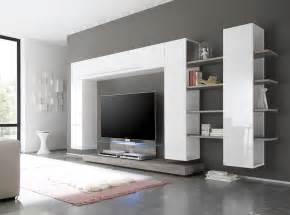 contemporary wall units living room modern with