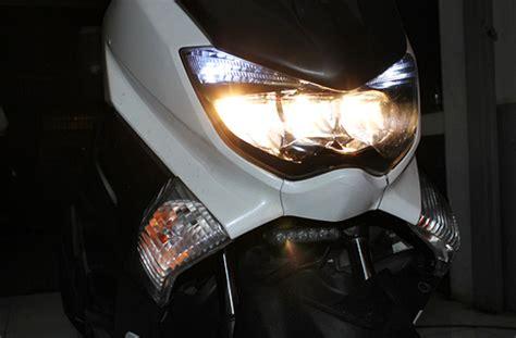 Led Autovision lu led autovision apex3r bikin yamaha nmax 2 kali lebih terang