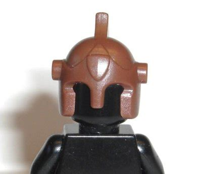 Part Lego Minifigures Headgear Helmet brickforge battle helmet brown headgear lego minifig
