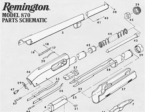 remington 870 diagram remington 870 parts diagram quotes