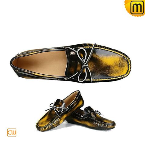 mens patent leather loafers shoes cw740037