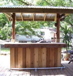 Build Your Own Tiki Bar Build Your Own Tiki Bar Outside Projects