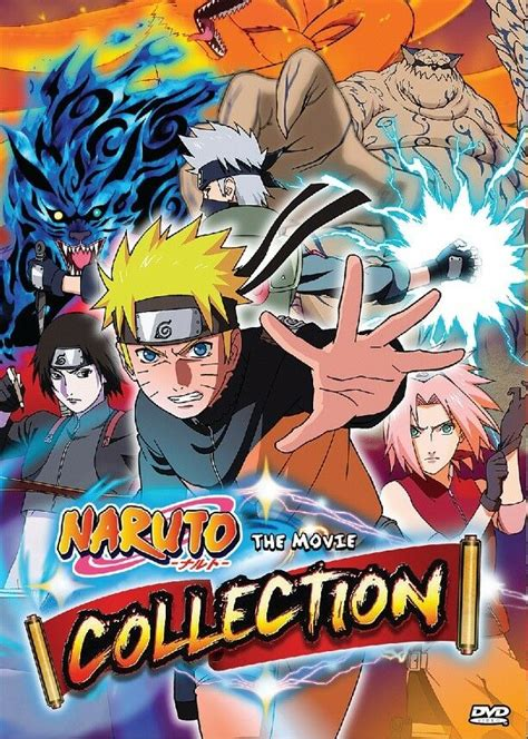 dvd anime naruto   collection complete set   english dub  region ebay