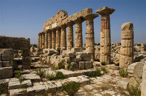 antike wandlen selinunte bijzondere plaats