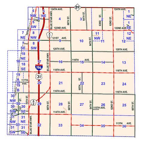 Allegan County Property Records Allegan County Lis Tax Maps Laketown Township Upcomingcarshq