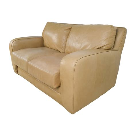 Beige Loveseat 50 Beige Leather Loveseat Sofas