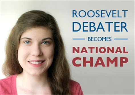 Roosevelt Mba Requirements by Roosevelt Debater Wins National Chionship Des Moines